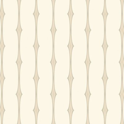 Candice Olson Dimensional Surfaces Retro Diamond Stripe Wallpaper