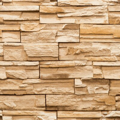 Modern Rustic Travertine Wallpaper