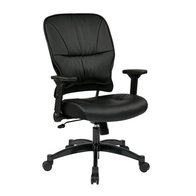 "Office Star Products Space 23.25"" Eco Leather Managers Chair"
