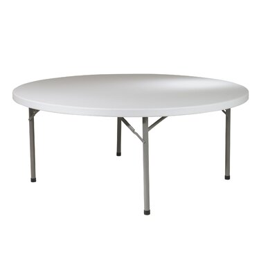 "Office Star Products Work Smart 71"" Round Folding Table"