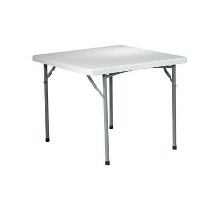 "Office Star Products 36"" Square Resin Multi Purpose Table"