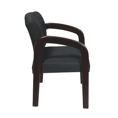 Office Star Products Mahogany Visitors Chair