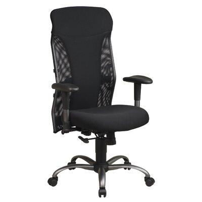 Office Star Products Mesh High-Back Office Chair with Arms