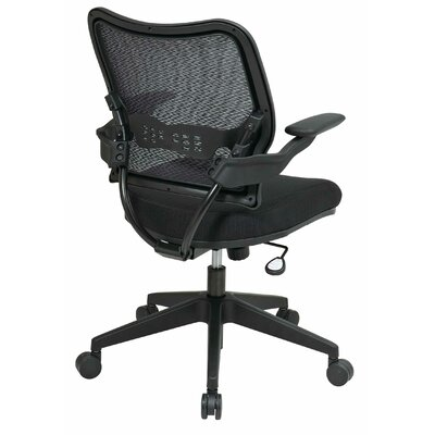 Office Star Products Air Grid Back and Mesh Seat Space Seating Deluxe Office Chair