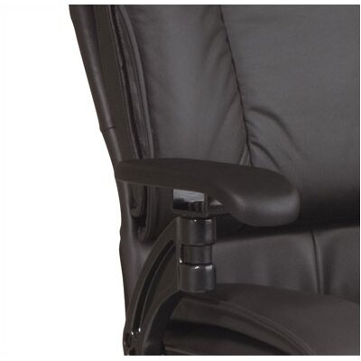 Office Star Products SPACE Deluxe Mid-Back Conference Chair with Cantilever Arms