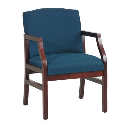 Office Star Products Mahogany Modular Guest Chair