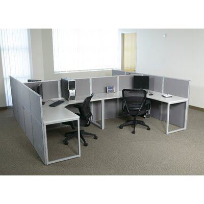 Office Star Products Box Office Typical Five Configuration Computer Workstation