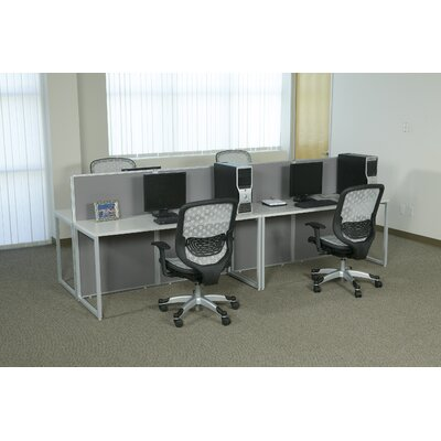Office Star Products Box Office Eight Panels Configuration Computer Workstation