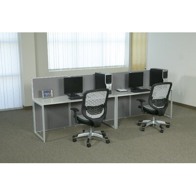Office Star Products Box Office Nine Panels Configuration Computer Workstation