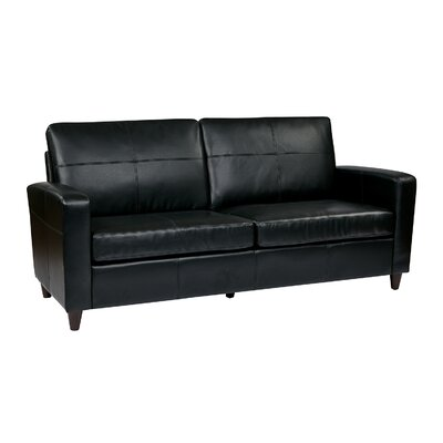 Office Star Products  Leather Sofa