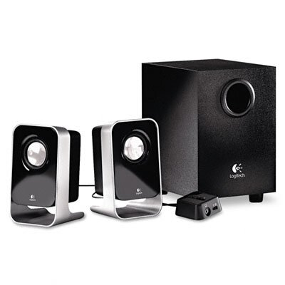 Logitech, Inc Ls21 2.1 Stereo Speaker System with Sub-Woofer