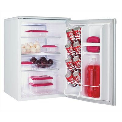 Danby 2.5 Cubic Ft. All Refrigerator in White