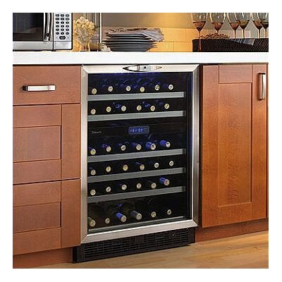 Silhouette 51 Bottle Freestanding Dual Zone Wine Cooler
