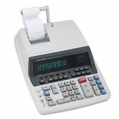 QS-2770H Desktop Calculator, 12-Digit Fluorescent, Two-Color Printing