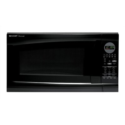 R520LKT Countertop Microwave in Black