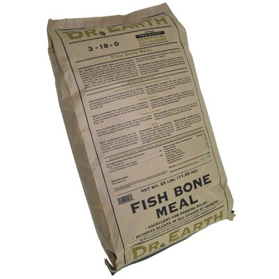 Dr earth wayfair for Fish bone meal