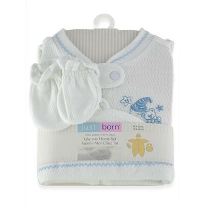 Triboro Just Born Take Me Home Layette Set