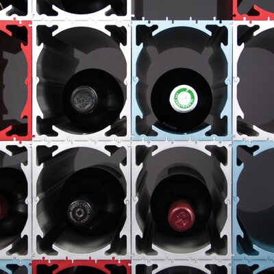 MuNiMulA 1 Bottle Tabletop Wine Rack