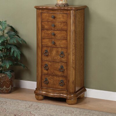 Porter Valley Jewelry Armoire with Mirror