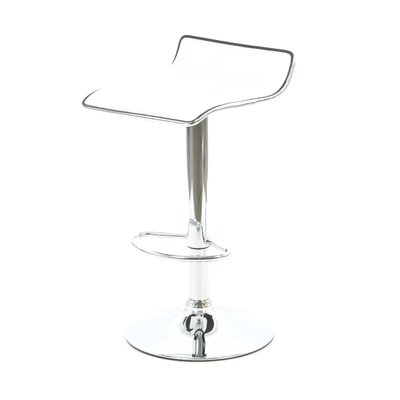 Powell Furniture Adjustable Bar Stool with Cushion