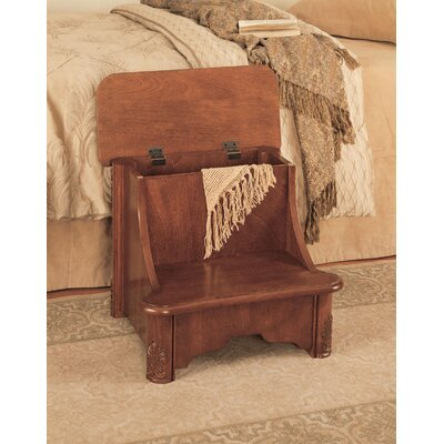 Powell Furniture Woodbury Mahogany Bed Step