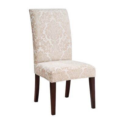 Powell Furniture Classic Seating Center Match Fleur-de-lis Tapestry Dining Chair Slipcover