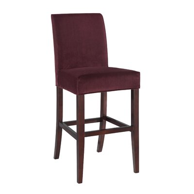 Powell Furniture Velvet Bar Stool Slipcover