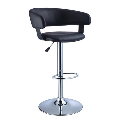 Powell Furniture Barrel Back Bar Stool