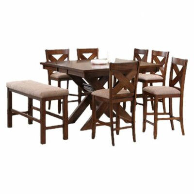 Kraven 8 Piece Counter Height Dining Set