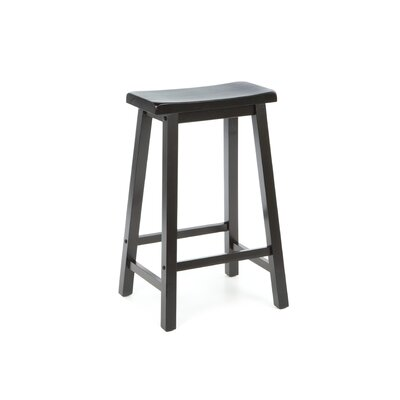 "Powell Furniture Antique Black 29"" Bar Stool"