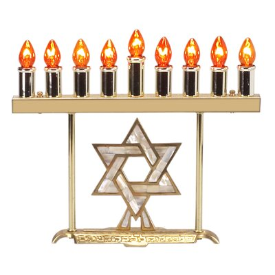 Israel Giftware Design Electric Menorah