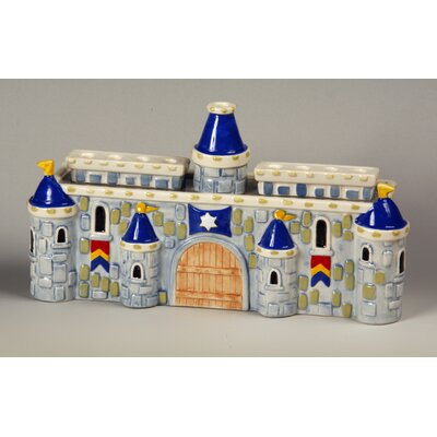 Israel Giftware Design Ceramic Royal Castle Menorah