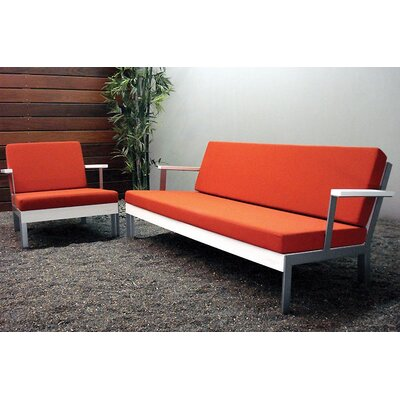 Modern Outdoor Etra Deep Seating Group with Cushions