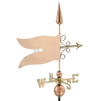 Good Directions Banner Weathervane