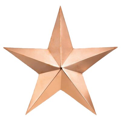 Good Directions Copper Star Wall Art