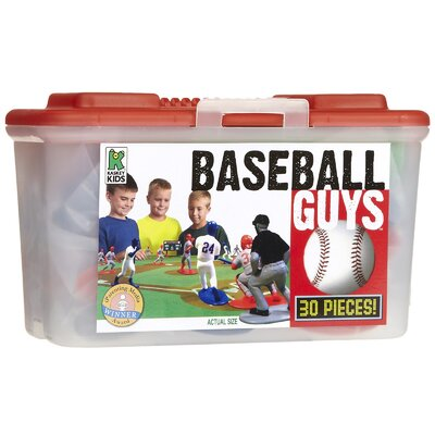 Kaskey Kids Baseball Board Game with Guys (Set of 30)
