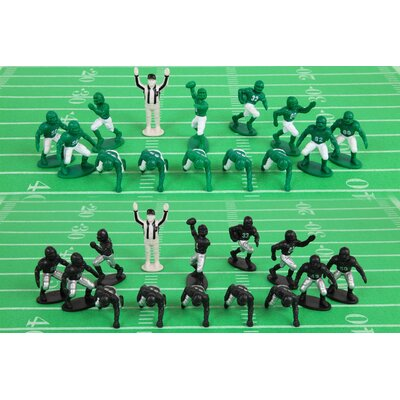 Kaskey Kids Football Board Game with Green and Black Guy (Set of 30)