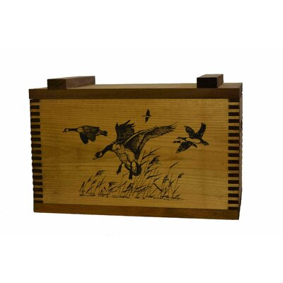 Standard Storage Box with Geese Print