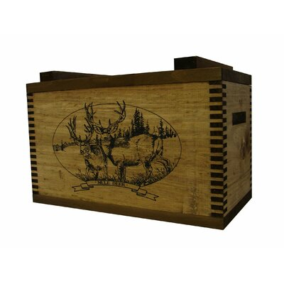 Standard Storage Box with Mule Deer Print