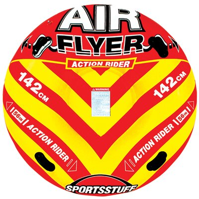 Swim Time Air Flyer in Yellow and Red