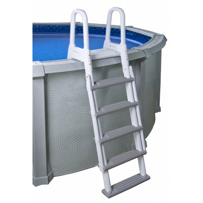 Blue Wave Heavy Duty A Frame Ladder For Above Ground Pool Reviews Wayfair