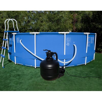 Swim Time Sand Filter System with 3/4 Horse Power Pump for Above Ground Pool