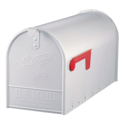 Solar Group Large Elite Galvanized Steel Rural Size Mailbox