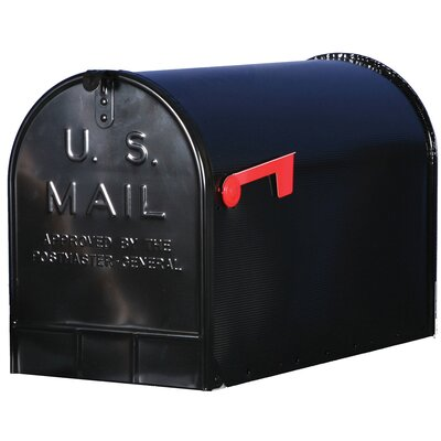 Jumbo Galvanized Steel Rural Mailbox