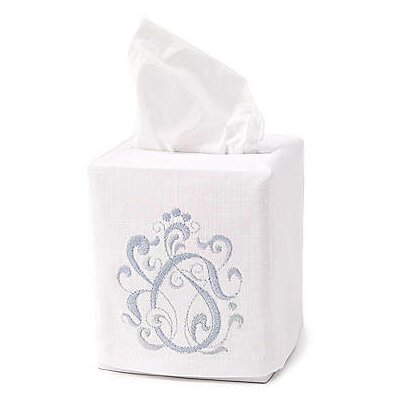 Jacaranda Living English Scroll Tissue Box Cover