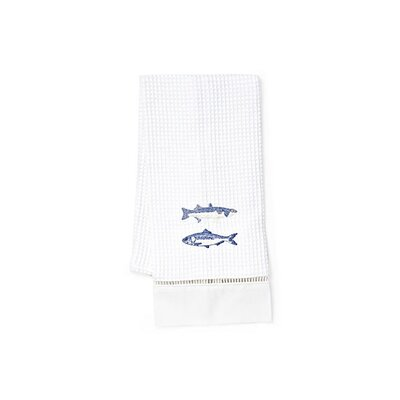 Jacaranda Living Fish Hand Towel