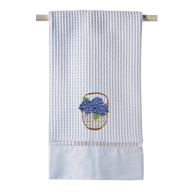 Hydrangea Basket Hand Towel