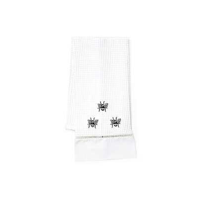 Black Napoleon Bee Hand Towel