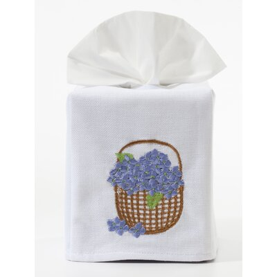 Jacaranda Living Hydrangea Basket Tissue Box Cover