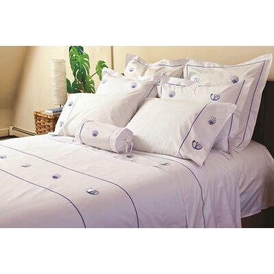 Jacaranda Living Scallop and Pearl Nautilus Sheet Set (200 TC)